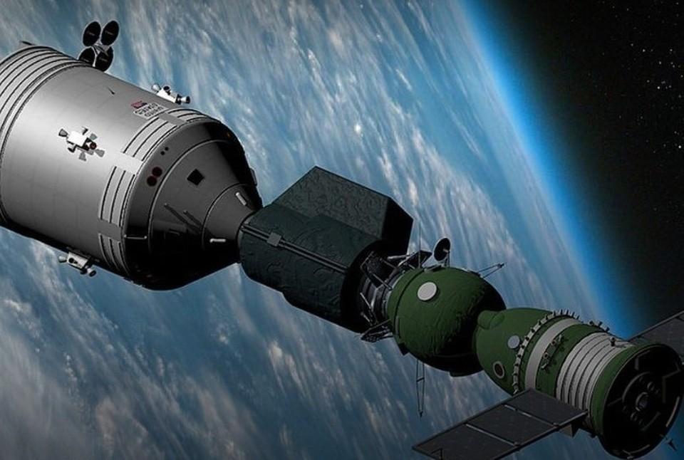 Композиция будет посвящена космической стыковке «Союз - Аполлон», состоявшейся в 1975 году