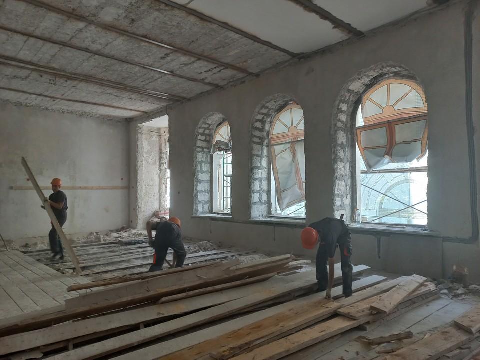 Реконструкцией музея занимается компания «Асгард»