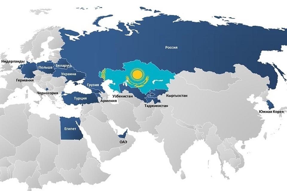 Пока казахстанцы могут напрямую полететь только в 16 стран мира.