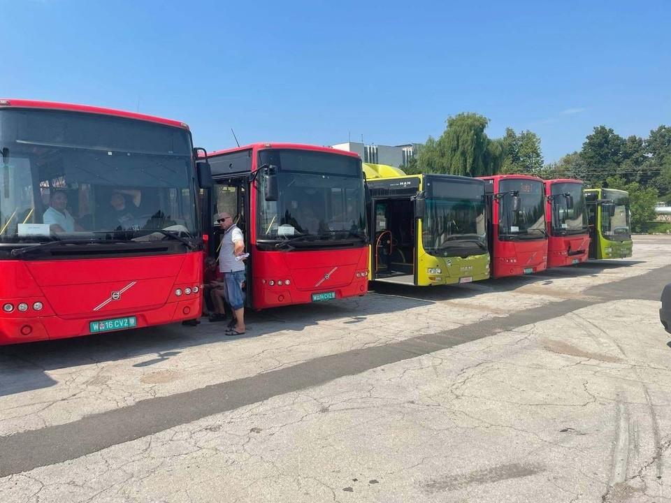 Автобусы пройдут технический тест и выйдут на маршруты. Фото: Facebook (Ion Ceban)