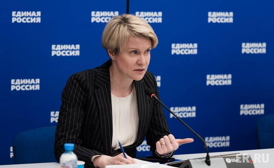 Сопредседатель центрального штаба Общероссийского народного фронта (ОНФ) Елена Шмелева.