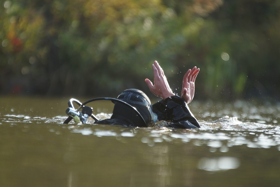 Инцидент произошел на озере Калкан