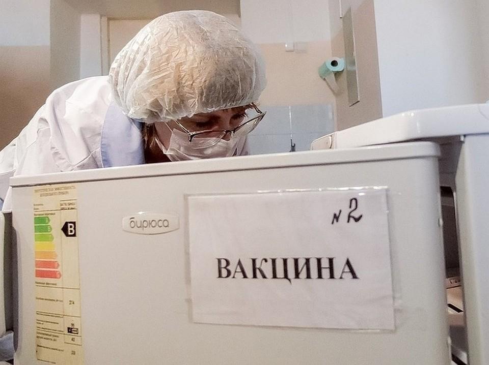В российских регионах наблюдается ажиотажный спрос на вакцины