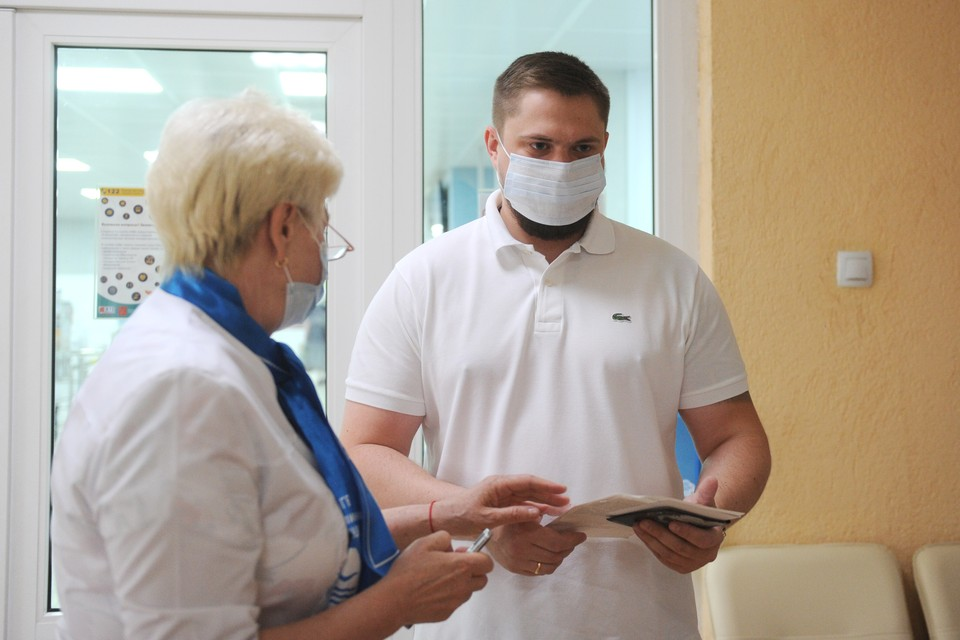В Петербурге зафиксировали снижение заболеваемости коронавирусом