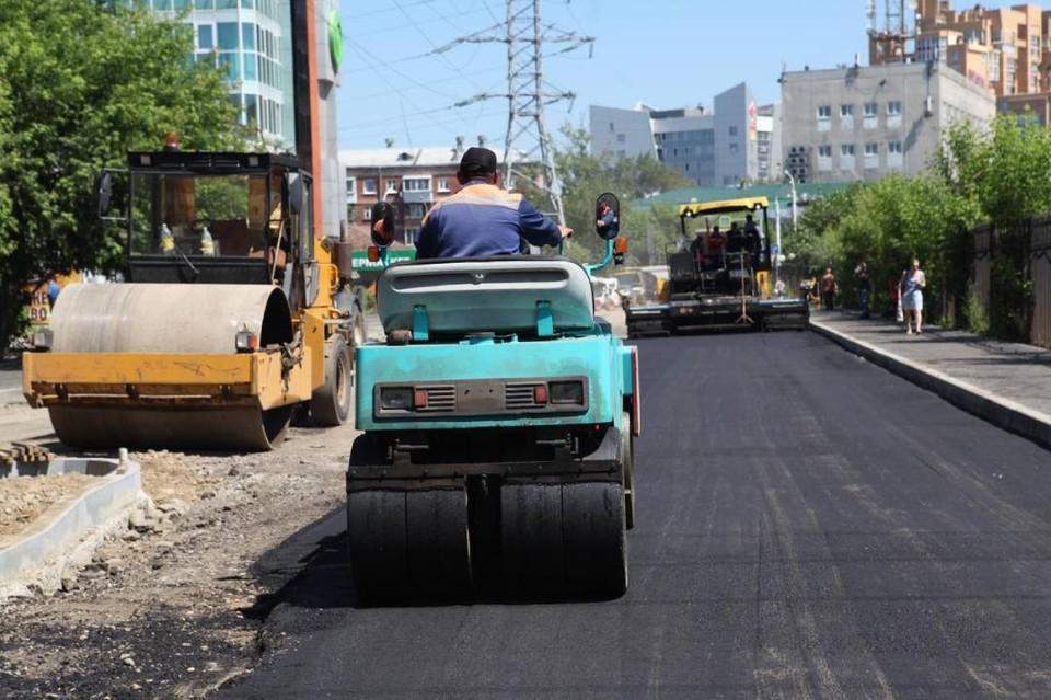 Всего в этом году в городе приведут в порядок 21 улицу. Фото: пресс-служба администрации Иркутска.