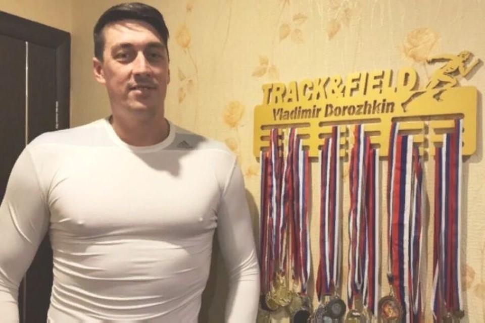 38-летний здоровый мужчина, спортсмен днем сделал прививку, а ночью скончался. ФОТО: страница Владимира Дорожкина ВКонтакте
