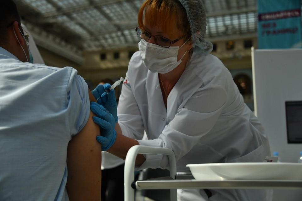 В донской столице сейчас работают 56 пунктов вакцинации