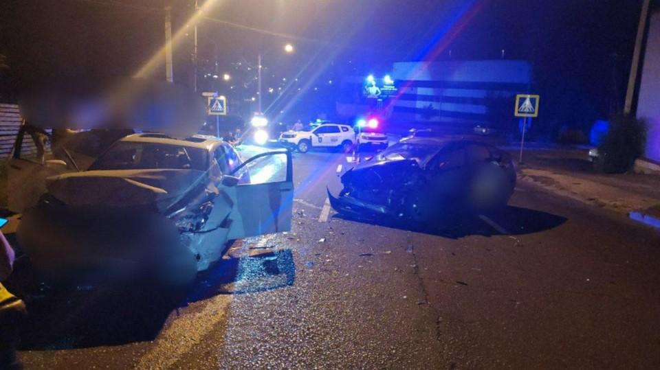 Водитель сбежал с места ДТП, бросив раненного пассажира (Фото: Protv.md).
