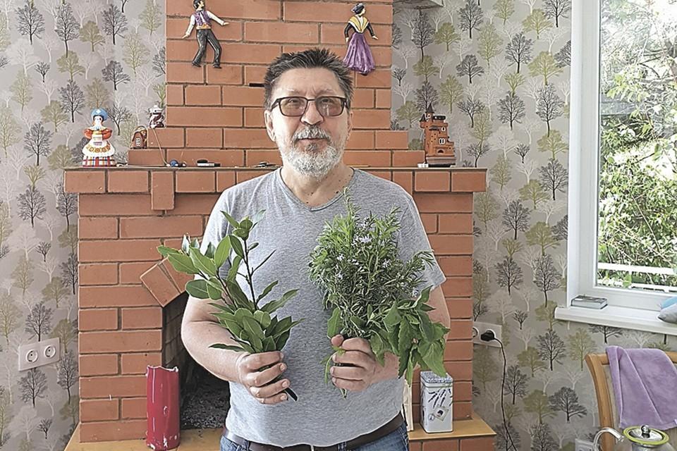 В поисках крымского жилья корреспондент «КП» залез в горы и едва не был одурманен ароматом местных трав. Фото: Личный архив