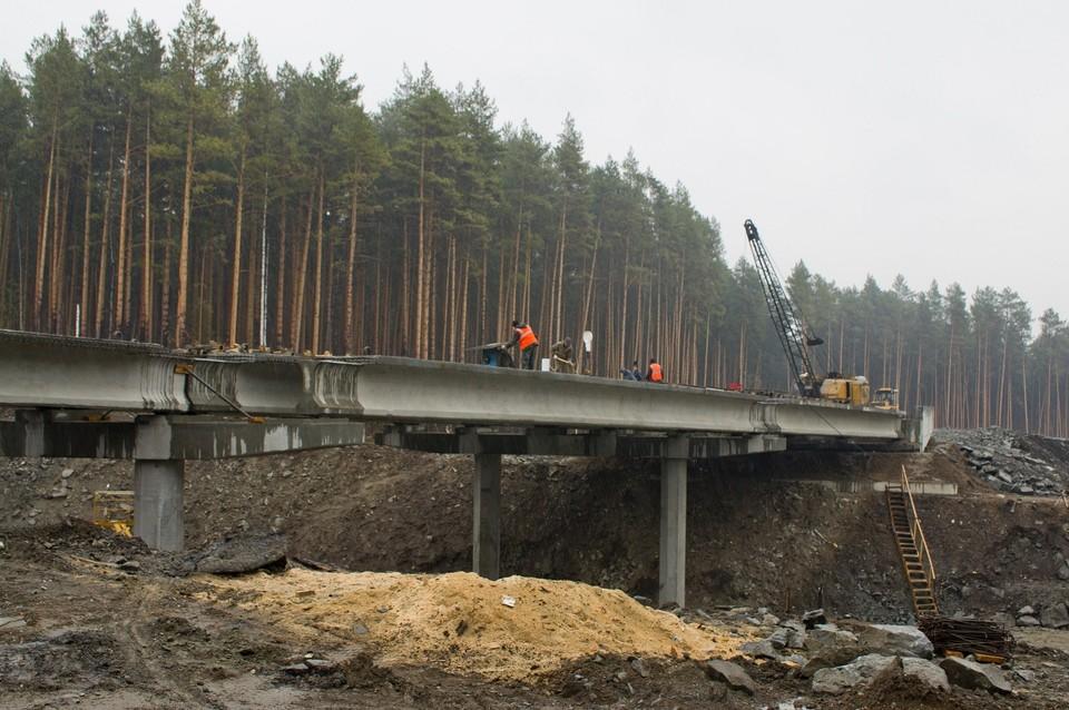 Строительство ЕКАД планируется завершить к 2023 году