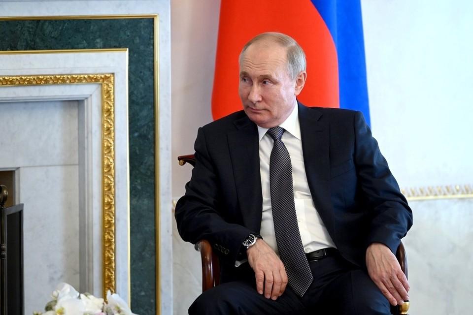 Владимир Путин поздравил «Славянский базар» с юбилеем. Фото: пресс-служба Кремля