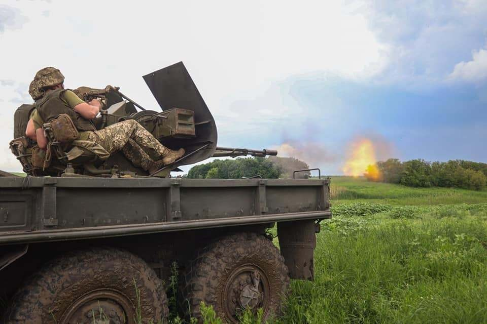 ВСУ не прекращают обстрелов Республики. Фото: штаб ООС