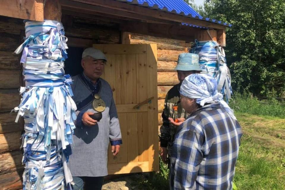 Бурятские шаманы провели антиковидный обряд