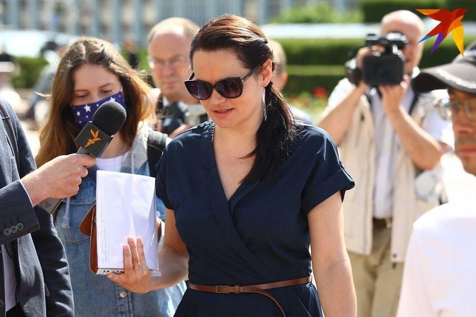 18 июля Светлана Тихановская отправится с визитом в США.