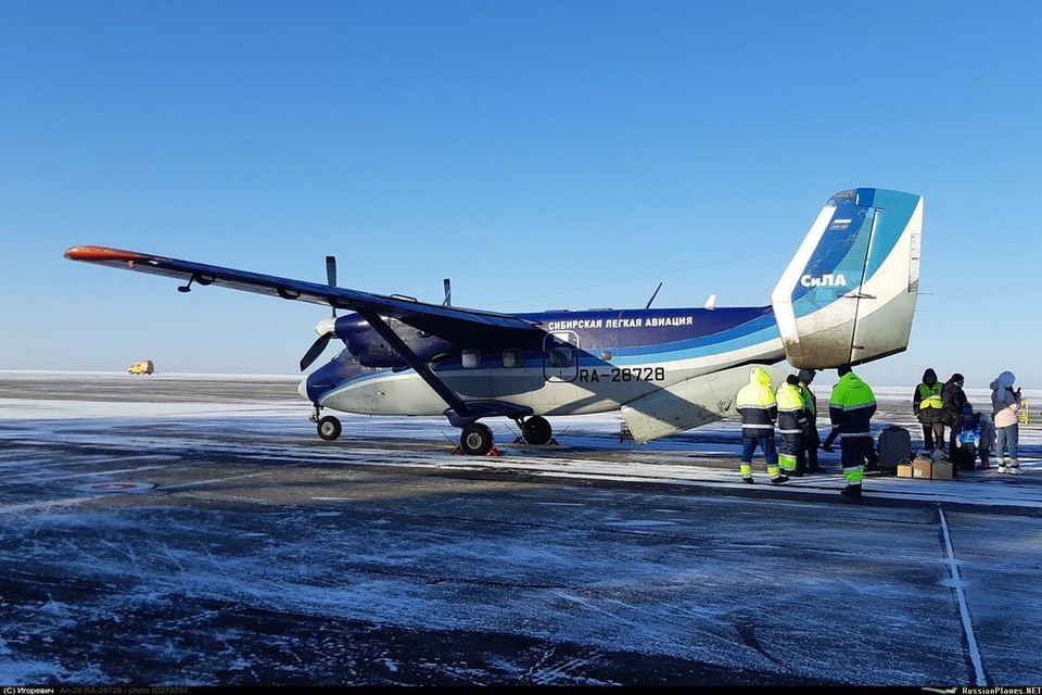 У этого самолета - богатая история полетов. Фото: Игорь Игоревич/russianplanes.net