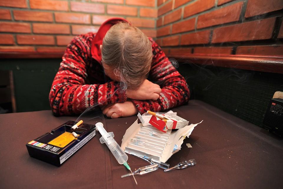 За прошлый год смертность среди наркоманов подскочила на 30%