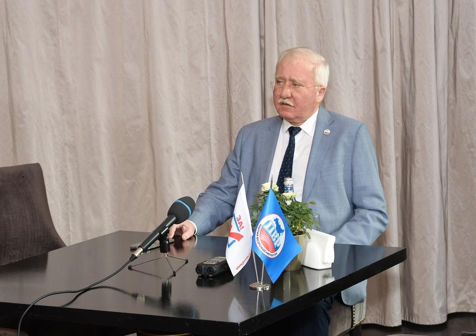Председатель центрального совета «Партии Возрождения России» Игорь Ашурбейли посетил Нижний Новгород 15 июля. Фото: ПВР
