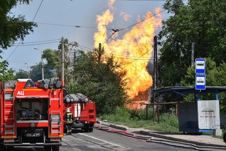 Взрыв на газопроводе произошел днем 16 июля. Фото: ДАН