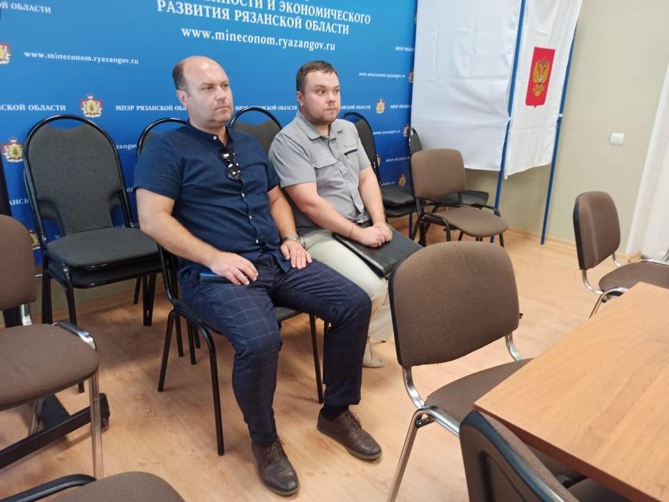 Денис Сидоров (слева) и Евгений Морозов.