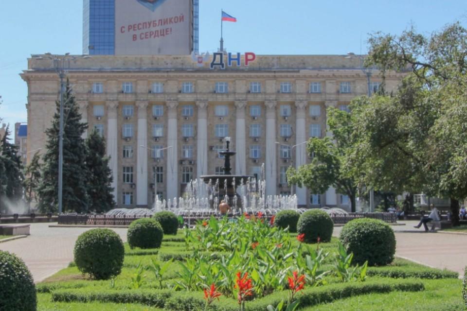В последние дни июля в Донецке сохранится жаркая погода