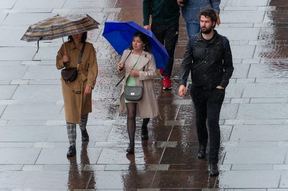Гроза и дождь могут прийти в Петербург в воскресенье, 18 июля.