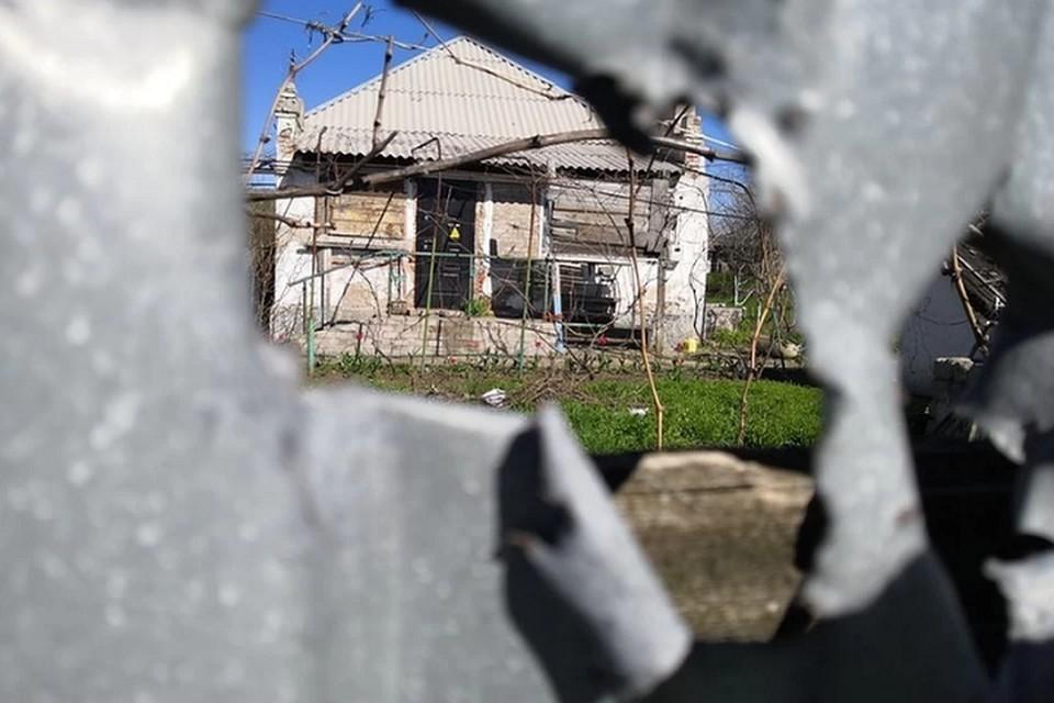 Поселок Еленовка подвергся обстрелу ВСУ [архивное фото]