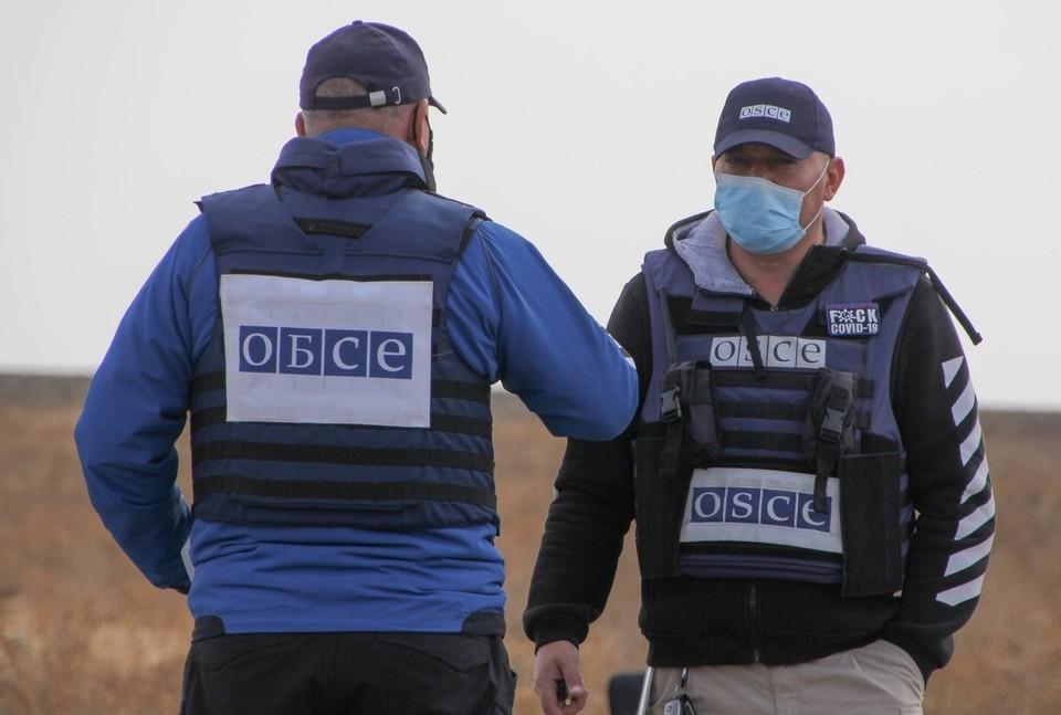 Своими действиями ВСУ нарушают мандат СММ ОБСЕ