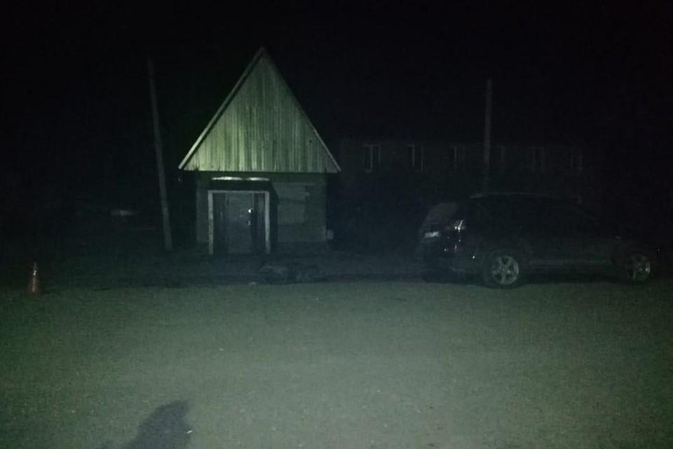 Кроссовер сбил пенсионерку на мопеде. Фото: ГИБДД по Новосибирской области