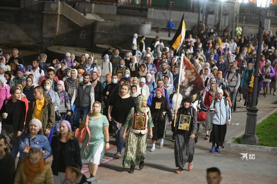 Шествие прошло в ночь с 16 на 17 июля.