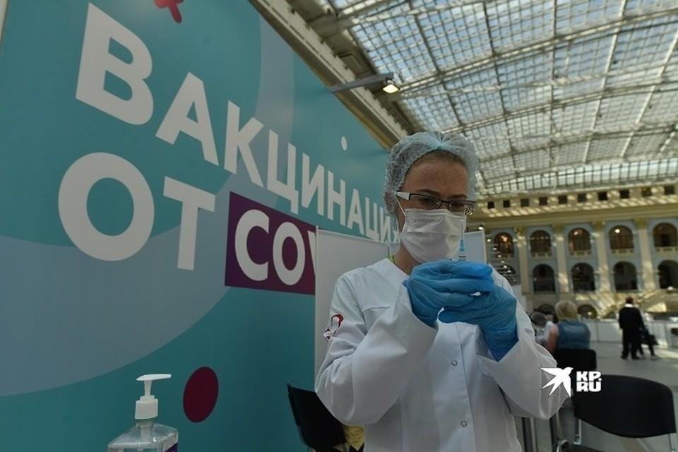 В свердловской области проводится массовая вакцинация