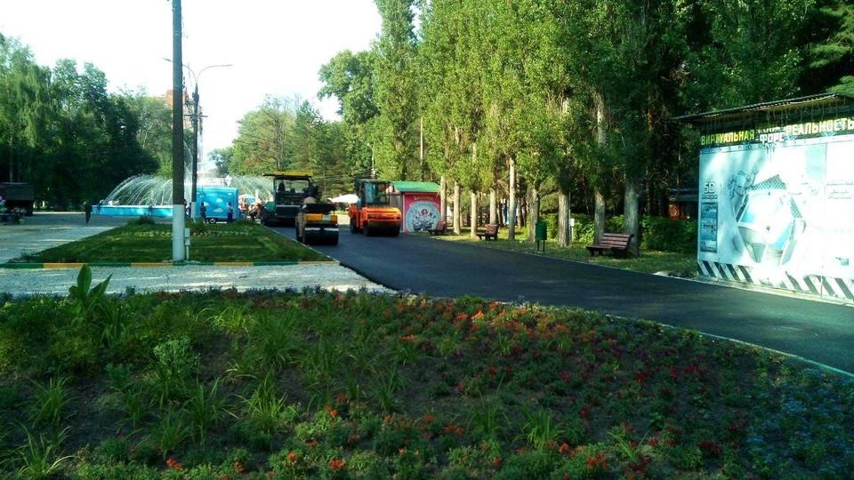 Аллею в Автозаводском парке заасфальтируют Фото: пресс-служба правительтсва Нижегородской области