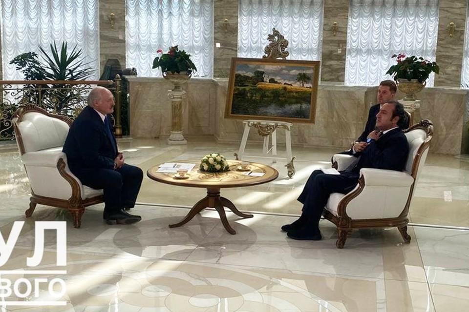 """Лукашенко про миграцию из Беларуси в Литву: «Если вы хотите, чтобы мы вам в этом помогали - не набрасывайте нам на шею петлю». Фото: """"Пул Первого""""."""
