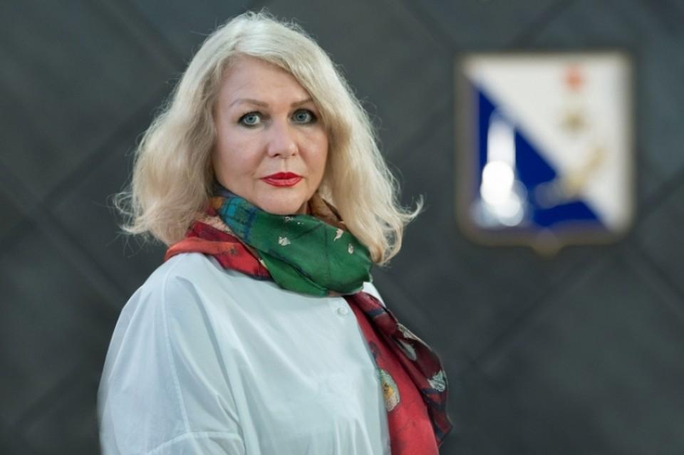 Директор департамента культуры города Севастополя Ирина Романец
