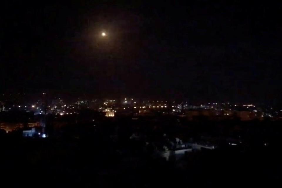 Сирийские силы ПВО отразили воздушную атаку