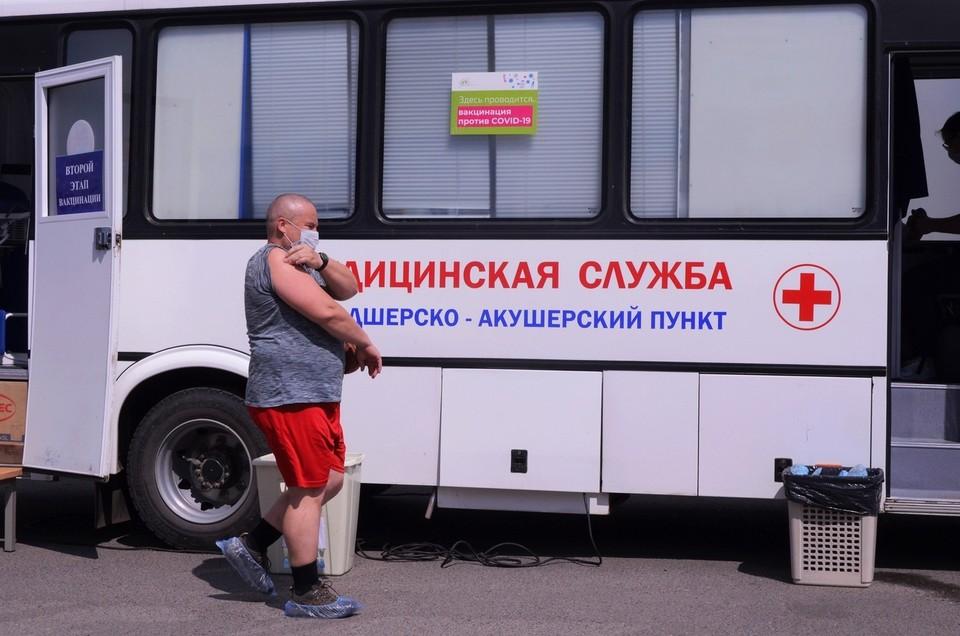 В минувшие выходные в регион поступило 17 400 партий доз вакцины «Гам-КОВИД-Вак» («Спутник V»).