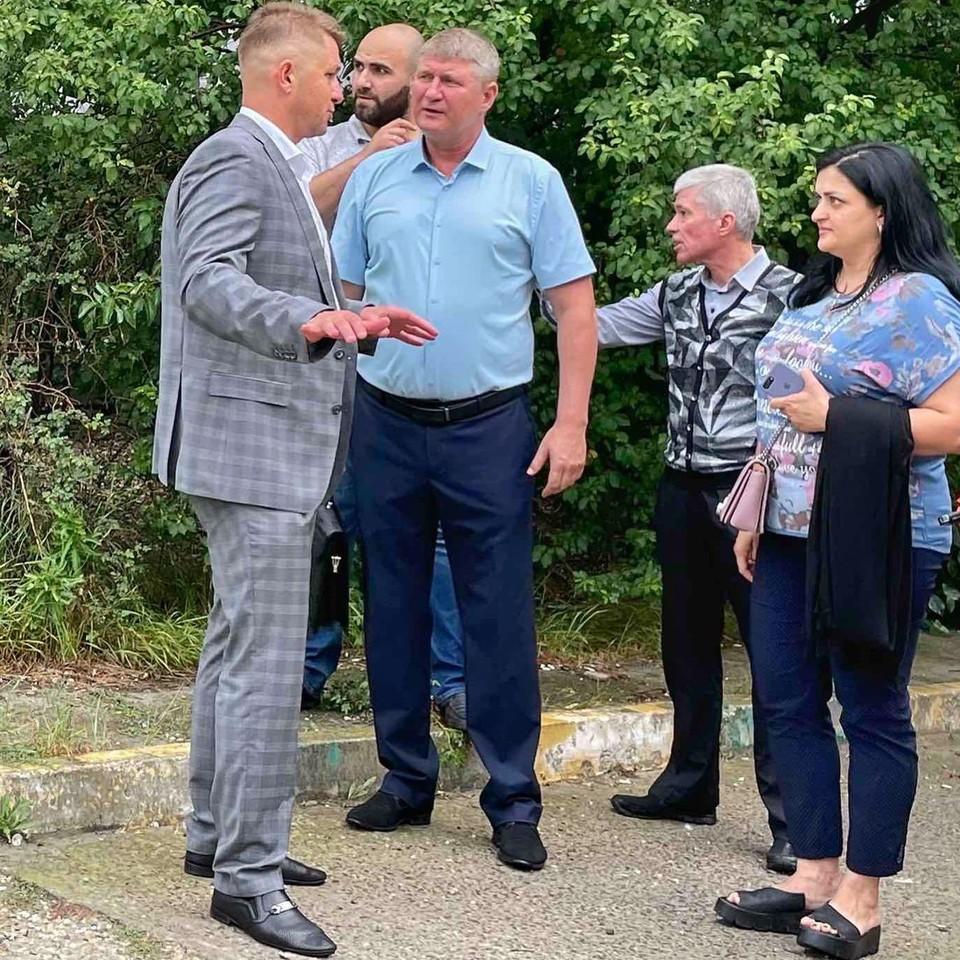 Михаил Шеремет на встрече с гражданами. Фото: Facebook