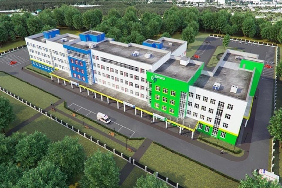 """В Новосибирске построят современную поликлинику в жилмассиве Затулинка. Фото: """"ВИС""""."""