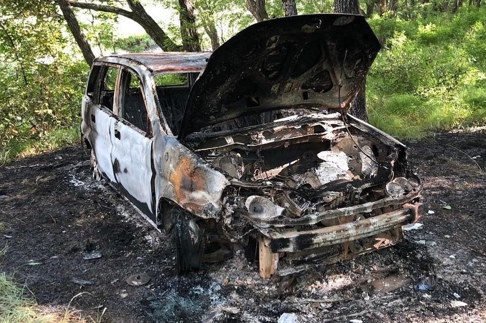В 30 метрах от места преступления найден автомобиль