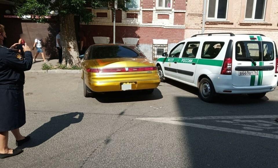 Если самарец не погасит задолженность, то эксклюзивное авто уйдет с молотка. Фото: ФССП по Самарской области
