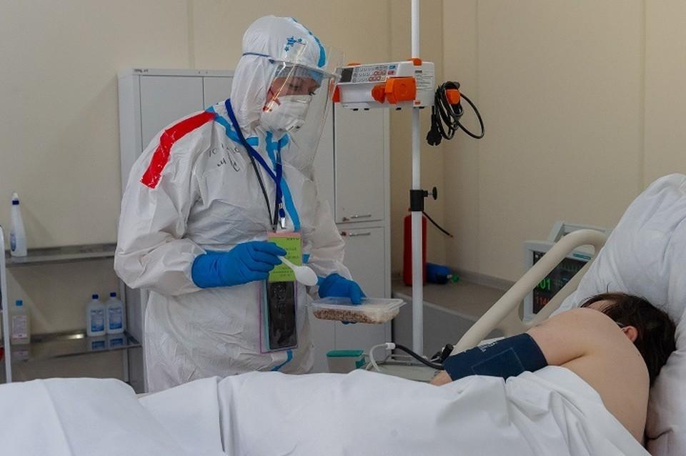 В медицинских учреждениях Урала большой наплыв коронавирусных больных