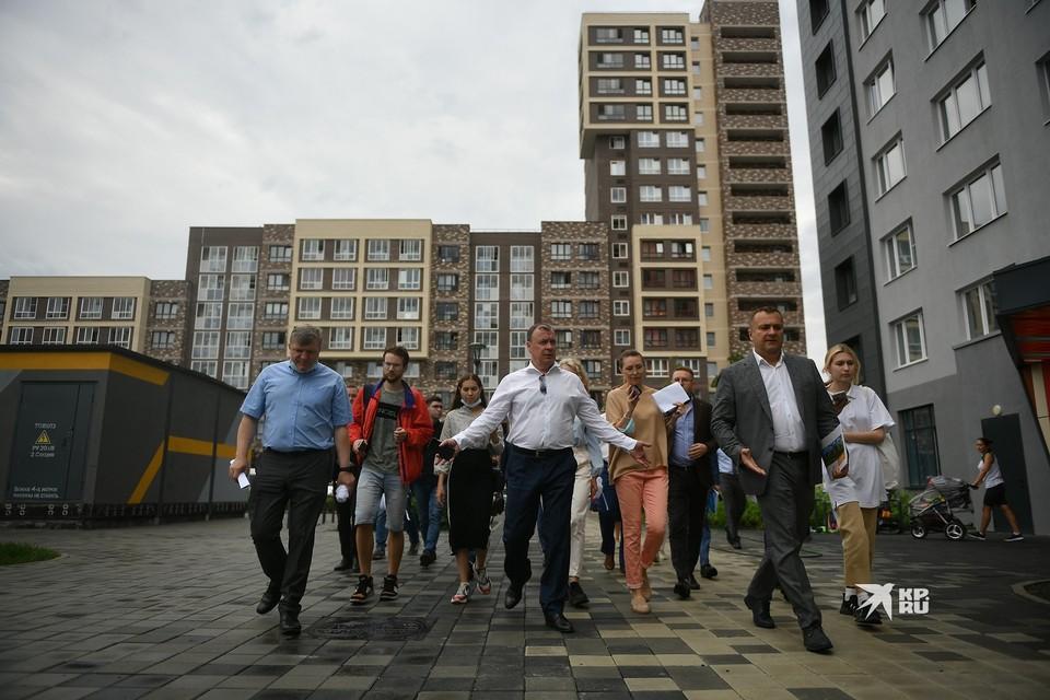 Алексей Орлов проинспектировал Солнечный 21 июля 2021 года