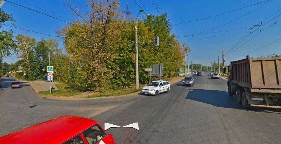 Движение на подъезде к Фрунзенскому мосту перекроют. Фото - Яндекс.Панорамы