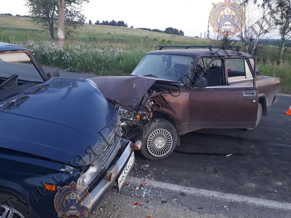 ДТП произошло 20 июля в Киреевском районе