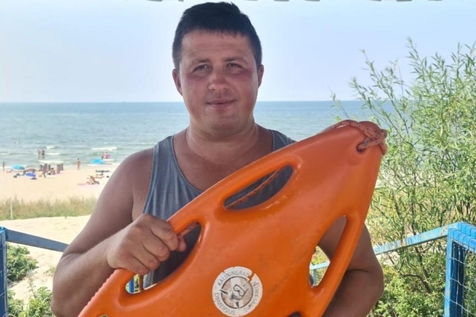 Николай Баженов работает морским спасателем уже 11 лет.