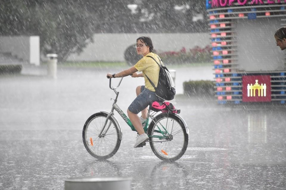 По Ростовской области пройдут сильные дожди.