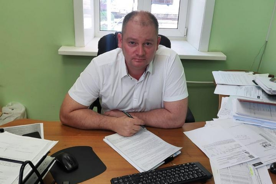 Директор МУПВ «Центральный» Алексей Майоров.
