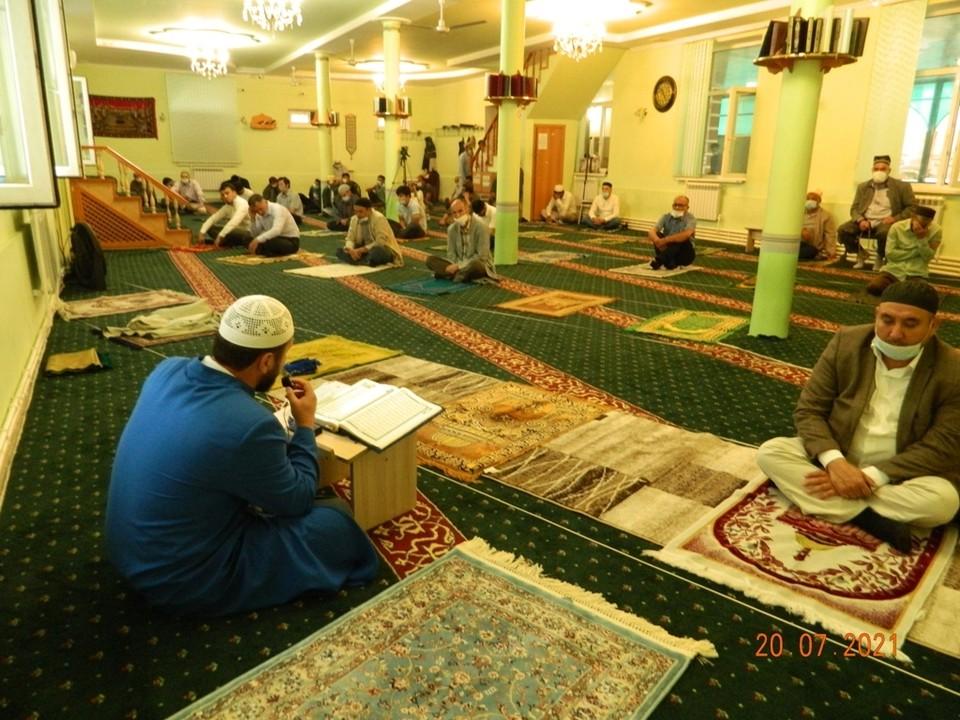 Рязанские мусульмане отметили Курбан-байрам.