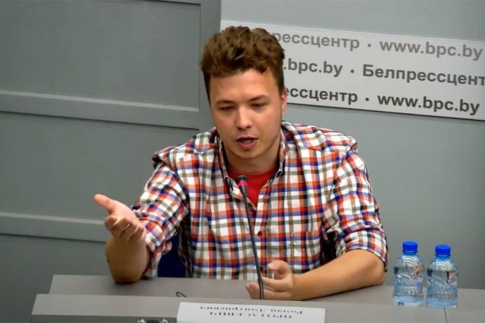 Роман Протасевич рассказал, кто организовал протесты в Беларуси.