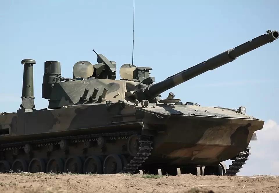 В Великобритании обеспокоились безопасностью Украины из-за российского танка «Спрут». Фото: официальный сайт Ростеха