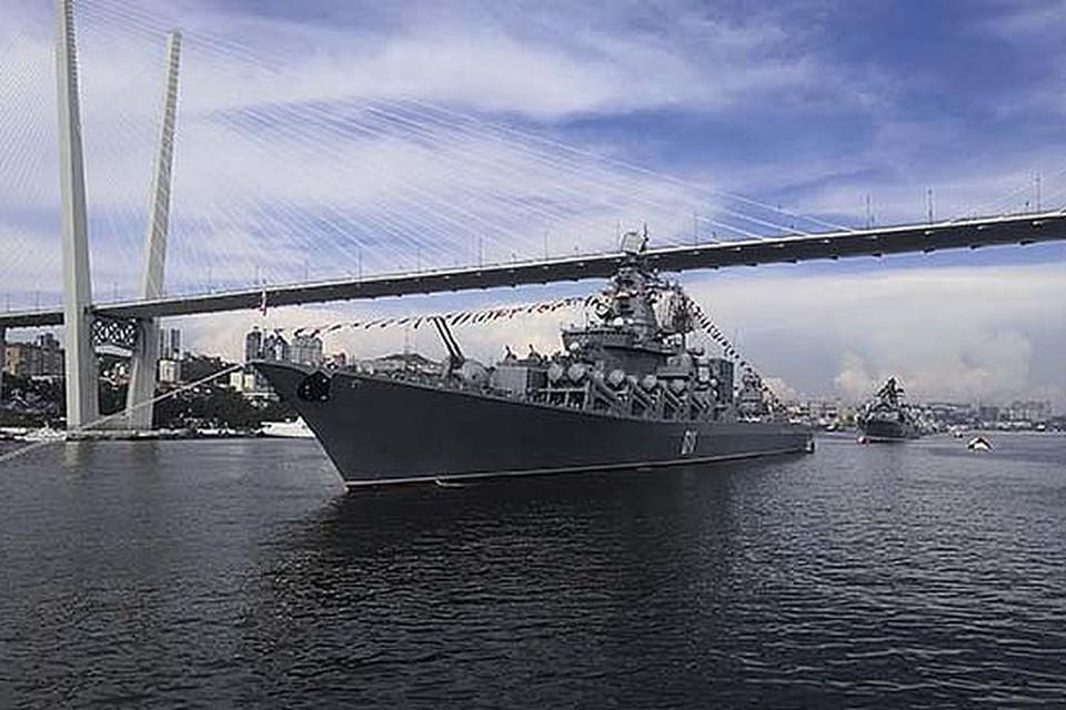 Празднование Дня ВМФ проходит с ограничениями. Фото: пресс-служба ВВО.